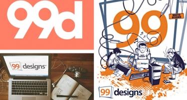 99 DESIGNS: TROUVER UN WEBDESIGNER PARTOUT DANS LE MONDE