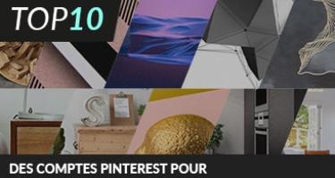 10 COMPTES PINTEREST POUR LES FANS DE DESIGN